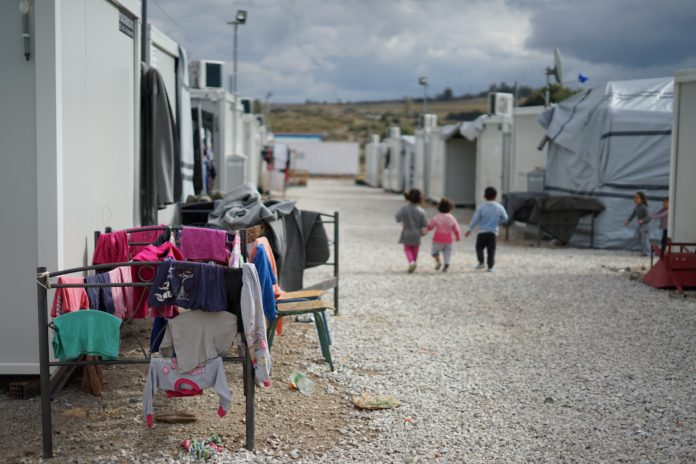 Camp de migrants